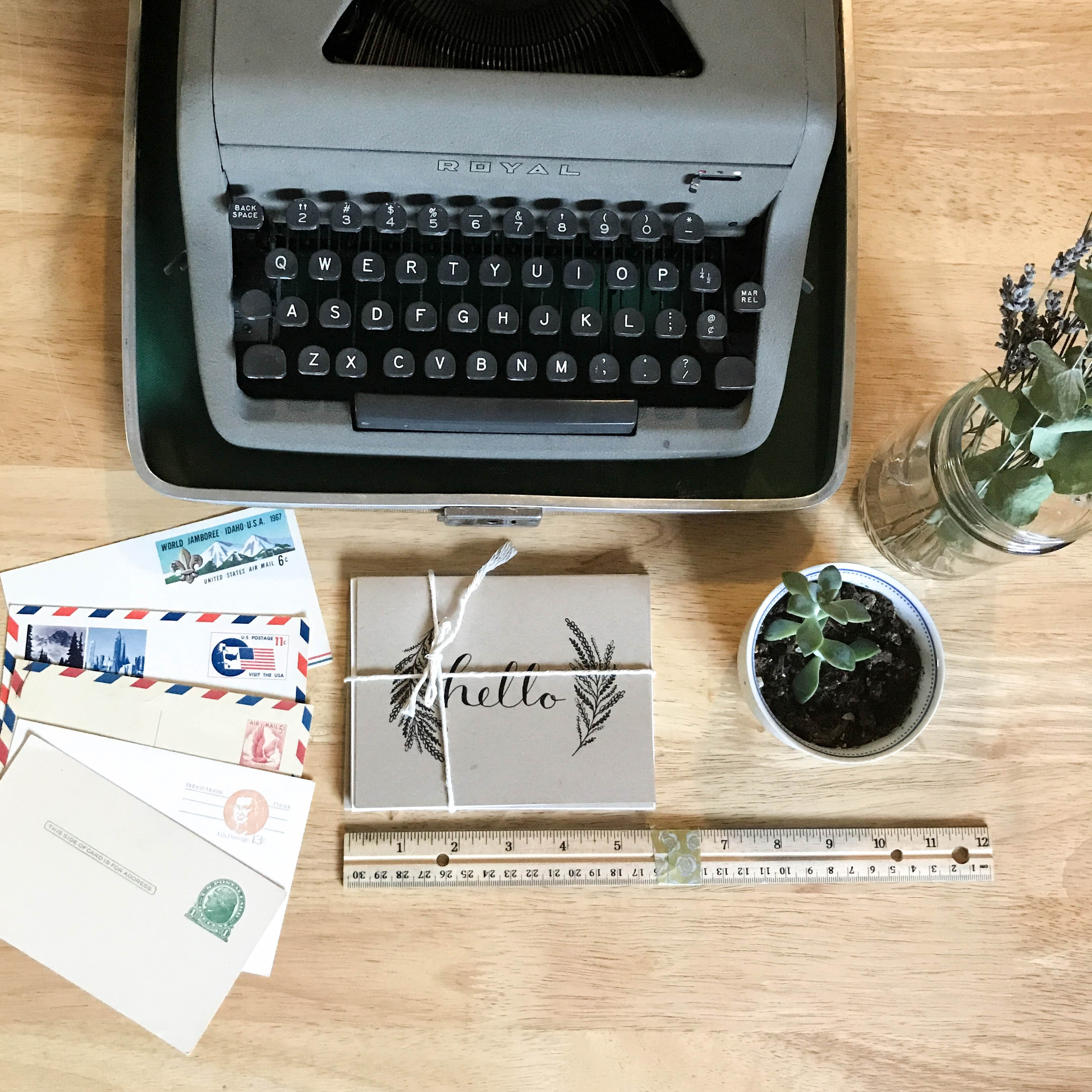 Letter Writing Challenge - October 2017